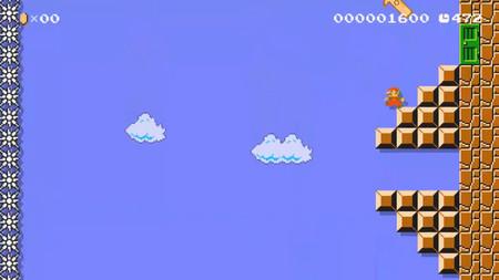 Superar el nivel 1-1 de Super Mario Bros. se convierte en todo un desafío al volverlo vertical en Super Mario Maker 2
