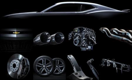 2016 Chevrolet Camaro: batería de 'teasers'