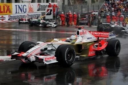 Adrian Sutil, el héroe sin premio del Gran Premio de Mónaco