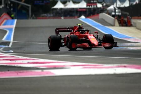 Sainz France F1 2021