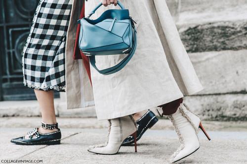 Puzzle, el bolso de Loewe que triunfa en el street style