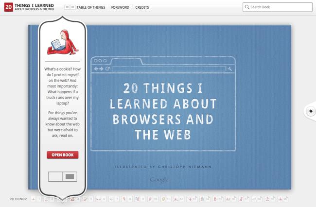 20 cosas que he aprendido sobre los navegadores e Internet