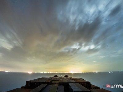 Un viaje en barco de 30 días resumido en un alucinante vídeo timelapse 4K de sólo 10 minutos