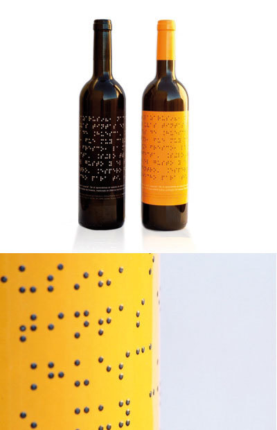 Lazarus Wine, vino en braille