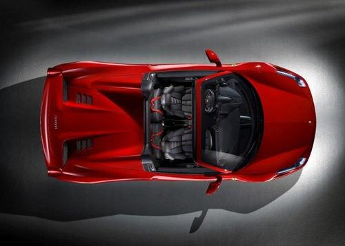 Ferrari458ItaliaSpider:datos,imágenesyvídeooficial