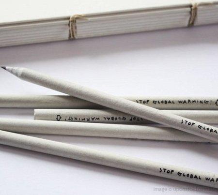 Stop Global Warming pencil set
