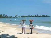 Sihanoukville: la playa de Camboya