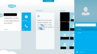 Primeras imágenes de Skype en la interfaz Metro de Windows 8