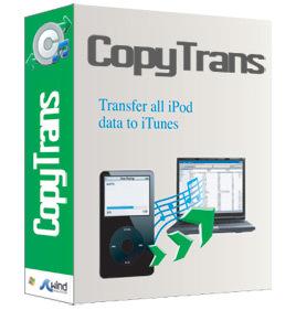 Gestiona tu iPod con CopyTrans