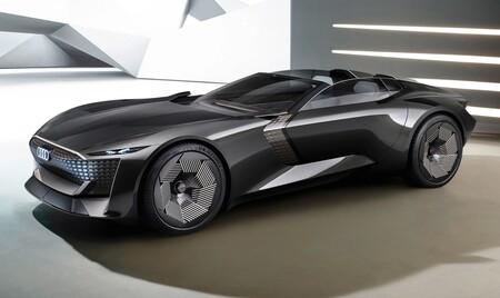 El Audi Skysphere es un espectacular concepto de roadster eléctrico 100% que presume de 632 CV de potencia y conducción autónoma nivel 4
