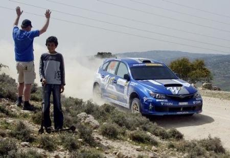 Patrik Flodin lidera el Rally de Jordania en P-WRC