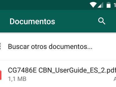 WhatsApp ya te permite enviar documentos PDF desde Google Drive, OneDrive y otras fuentes