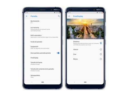 Nokia 9 Pureview Ajustes Pantalla