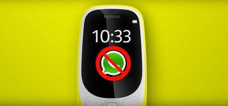 El falso truco para instalar WhatsApp en el Nokia 3310 (2017): no lo intentes, es imposible