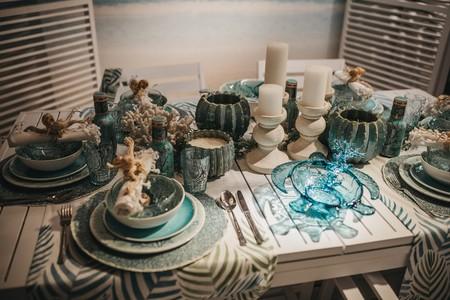 ¿En verde, coral o azul? ¿Cuál es tu color favorito para poner tus mesas de verano?