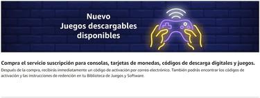 Juegos digitales en Amazon: qué son y cómo puedes comprarlos
