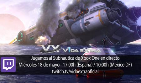 Jugamos en directo al Subnautica de Xbox One a partir de las 17:00h (finalizado)
