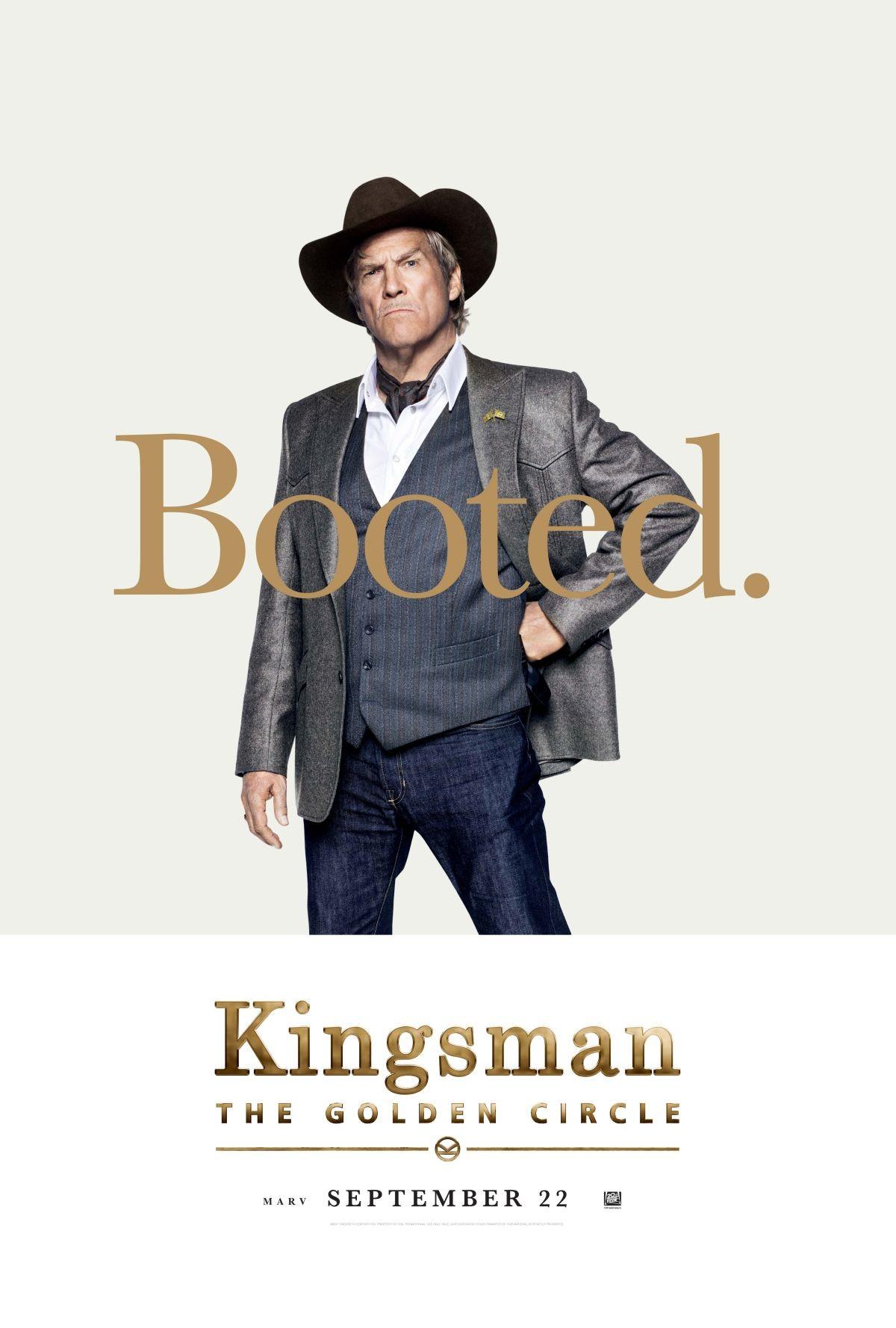 Foto de Carteles de los protagonistas de 'Kingsman: El círculo de oro' (7/8)