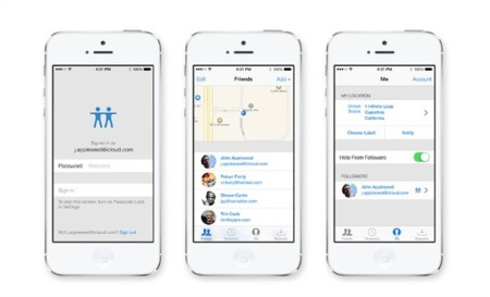 Apple actualiza la aplicación Find My Friends adecuándola al estilo de iOS 7