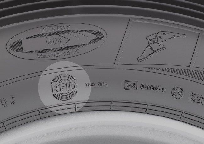 Neumático Goodyear con chip antirrobo RFID