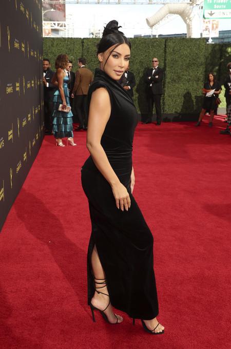 kim kardashian red carpet emmys 2019