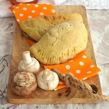 Empanadas de champiñones y queso. Receta