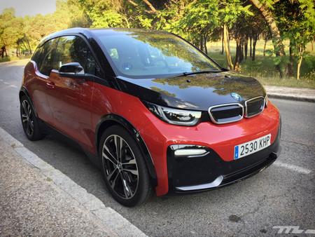 BMW i3s rojo prueba