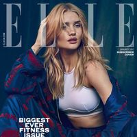 Elle UK: Rosie Huntington Whiteley