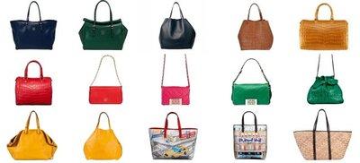 Bolsos de Carolina Herrera colección Primavera-Verano 2011