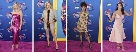 No te pierdas ni un solo look de los Teen Choice Awards 2018: la alfombra roja al completo