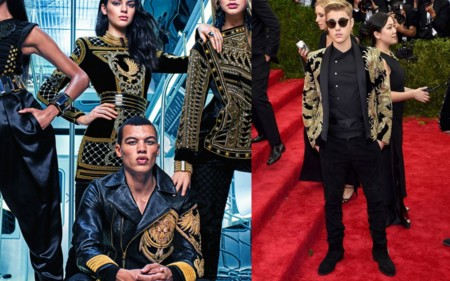 Justin Bieber Balmain Hm Collection 1