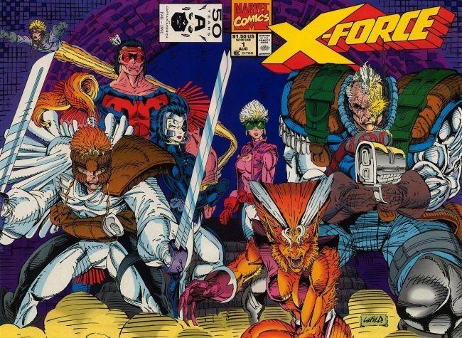 Portada de un cómic de X-Force