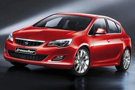 El nuevo Opel Astra ya tiene una preparación de Irmscher