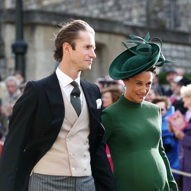 Boda de la princesa Eugenia de York y Jack Brooksbank: el perfecto estilo premamá de Pippa Middleton
