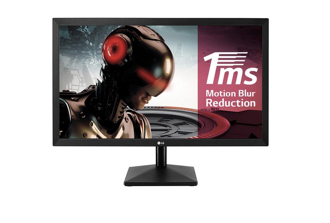 """Monitor PC Gaming 59,69 cm (23,5"""") LG 24MK400H-B, 75 Hz, Full HD, Radeon Free Sync"""