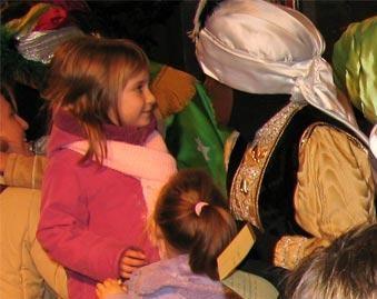 Los Reyes Magos reparten caramelos aptos para celíacos
