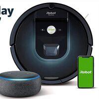 El Roomba 981 en pack con un Echo Dot te sale más barato que sin él en el Prime Day: ahora lo tienes por sólo 419 euros