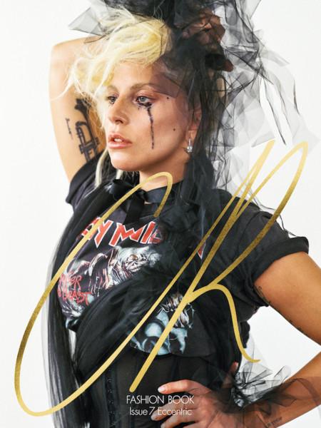 Lady Gaga saca su lado (¿más?) excéntrico para la nueva edición de CR Fashion Book