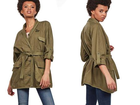 G Star Raw Beryl Overcoat Abrigo Para Mujer