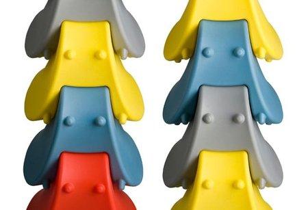 La adivinanza decorativa del viernes: colores primarios