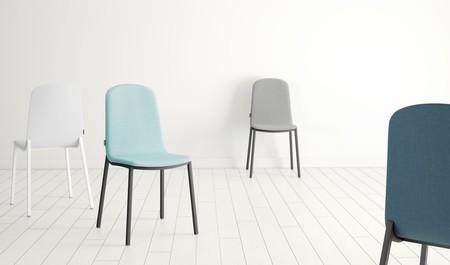 Los colores pastel, grandes protagonistas en las nuevas sillas Dolce y Moly de CANCIO