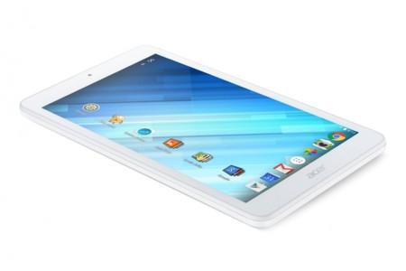 Acer Iconia One 8: un tablet Android asequible pensado para los más pequeños de la casa