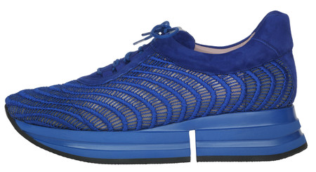 Christy Electric Blue Mesh Ribbing Side Pvp 229