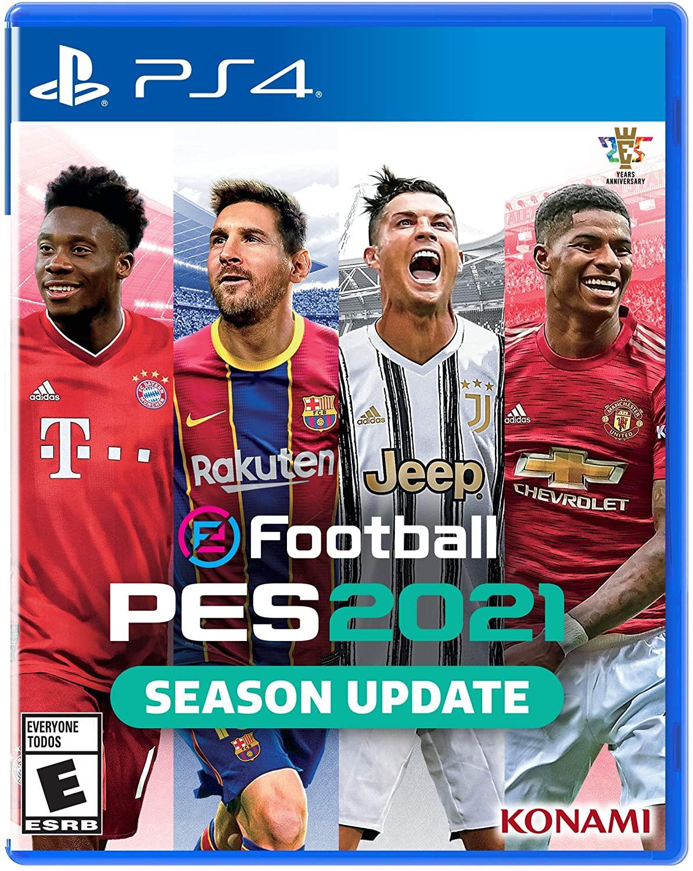 eFootball Pro Evolution Soccer 2021 - Season Update para PlayStation 4