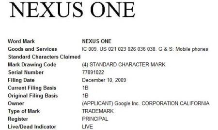 Nexus One se deja ver arrancando, y nuevas informaciones