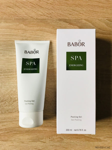 review exfoliante sorbete spa energizing babor