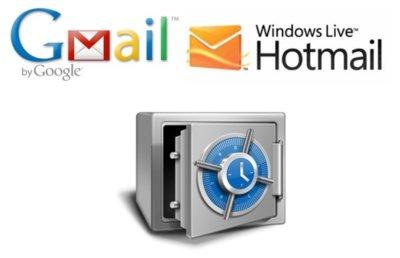 ¿Preocupado por la seguridad de tus correos? Respalda tus cuentas de Gmail o Hotmail