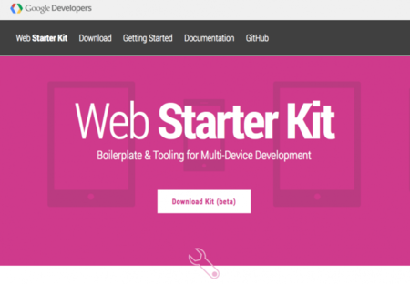 Web Starter Kit, el Bootstrap de Google ya está aquí