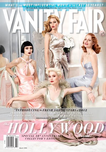 Lo de Vanity Fair es glamour hollywoodiense y lo demás tonterías