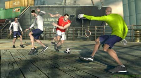 Fifa Street 3 match